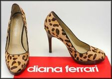 Diana Ferrari Animal Print Leather Women's Shoes