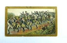 American Tobacco Company Cigarette Card c.1901 Battle Scenes Waterloo 1815