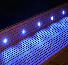 LED Bodeneinbaustrahler Set 10 Einbau Bodenstrahler Außenbereich eckig Terrasse