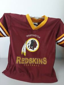 Boys NFL Washington Redskins SS 100% polyester jersey size 4T