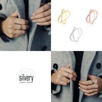 Silvery Ring X Silber 925 Zirkonia Georing silber gold rosegold schmuckrausch
