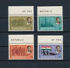 Ghana  167-70 MNH,  Independence Anniversary, 1964