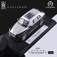 Time Model 1/64 Scale Rolls-Royce Mansory Cullinan Diecast Car Model New in Box