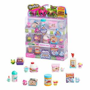 Shopkins FAMILY SHOPPER MINI PACK 16 Piece (Series 11) Collectible Toy Figures