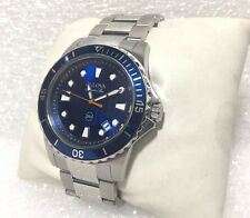 Bulova 98B130, Marine Star - Blue Dial, Stainless Steel Men's Watch (48215)