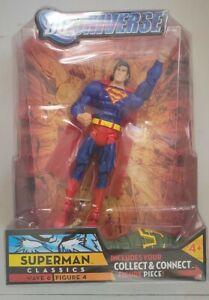 NEW 2008 MATTEL  DC UNIVERSE CLASSICS WAVE 6 FIGURE 4 SUPERMAN ACTION FIGURE B47