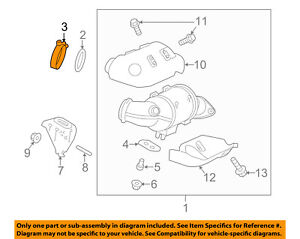 FORD OEM Exhaust System-Catalytic Converter Clamp CV6Z5A231C