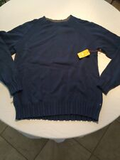 Quiksilver Waterman Collection Pipes Cotton Wool Blend Crew Neck Sweater