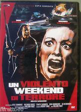 DVD Un violento weekend di terrore - Canada 1976 copia numerata da collezione