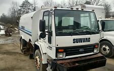 1989 Sunvac Ford Diesel Street Sweeper