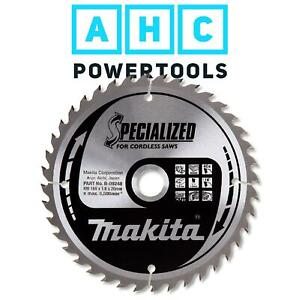 Makita B-09248 Specialized Circular Saw Blade 165mm X 20 x 40T for Cordless Saws