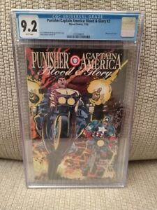 Punisher/Captain America: Blood & Glory #2, CGC 9.2, 1992, Marvel Comics