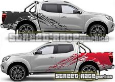 024 Rally raid Fits Nissan Navara decals vinyl graphics stickers splatter