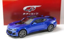1:18 GT Spirit Chevrolet Camaro zl1 Coupe 2017 Blue New chez Premium-modelcars
