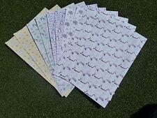10 X papeles con temática de animales, elaboración de tarjetas, scrapbooking, Decoupage