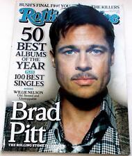 Rolling Stone Magazine January 8 2009 Brad Pitt 50 Best Albums NM Condition