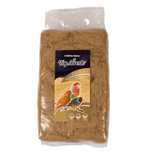 Coconut Nesting Fibre, Canaries / Finches Breeding Nest Material 500g