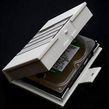 """Stabile HDD Schutzbox für 3,5"""" Zoll Festplatten Protector Protective Case weiß"""