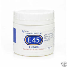 E45 Cream Treatment for Dry Itching Flaking Chapped Eczema Skin non-greasy 125g