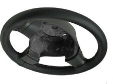 FITS MAZDA XEDOS 1992-2003REAL BLACK PERFORATED LEATHER STEERING WHEEL COVER NEW