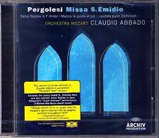 Claudio ABBADO: PERGOLESI Missa S. Emidio Salve Regina Laudate pueri Dominum CD