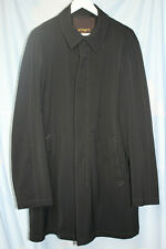 Allegri Milano Men's Black Coat Size 52 Excellent Used Condition