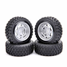 Rubber Tire & Wheel (4pcs) For 1/10 RC Rally Racing Off Road RC Car 11083-21104
