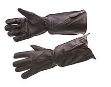 WW2 RAF flying gloves pattern 41 brown leather - repro - medium