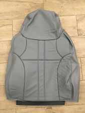 2000-2003 Ford Excursion NEW Factory Original Upper Leather Seat Cover (Gray)