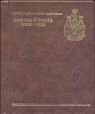 GARDMASTER DELUXE COIN ALBUMS FOR CANADA 5 CENTS 1858 - 1921