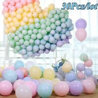 30pcs 5Inch Macaron Latex Balloons Baby Shower Birthday Wedding Party Decoration