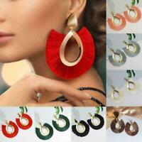 Böhmische Quaste Ohrringe Frauen handgemachte Fringe Schmuck Anweisung