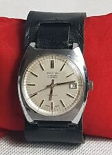 Beautiful Vintage Avia Matic 17 Jewels Incabloc Watch Swiss Made