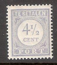 Nederland  Port  Nummer  50    Postfris.