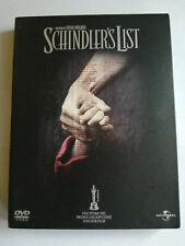 SCHINDLER'S LIST EDIZIONE DIGIPACK CARTONATA 2 DVD COME NUOVI Steven Spielberg