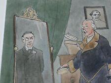 More details for original albert ludovici political watercolour, chamberlain, lord roseberry.