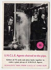 scanlens Australien The Man from UNCLE original 1960s Jahre Sammelkarte #35