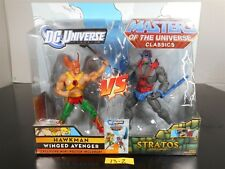 MINT! DC UNIVERSE CLASSICS MASTERS OF THE UNIVERSE HAWKMAN & STRATOS 2 PACK 13-2