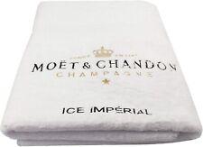 Moet & Chandon Ice Imperial Weißes Strandlaken Badetuch Champagner Sommer Urlaub