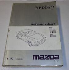 Werkstatthandbuch Grundhandbuch Mazda Xedos 9, Stand 11/1993