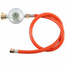 80cm Gasschlauch Druckminderer 50mbar für Gasgrill Regler Gasregler Druckregler