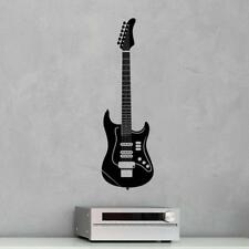 Stratocaster Guitar Wall Decal