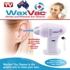 Electric Ear Wax Dirt Remover Earwax Vacuum Cleaner Painless Cordless Safe Tool