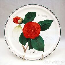 """Villeroy & Boch 1985 NEW YEAR Collector Plate """"Camellia rubra"""" 9 1/8"""" EXCELLENT"""