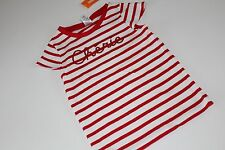 Gymboree Parisian Afternoon Girls Size 6 Cherie Red Stripe Top Shirt  NEW