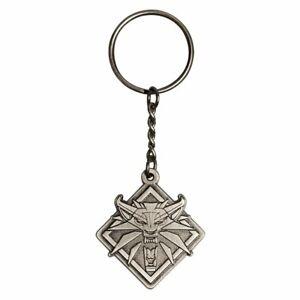 The Witcher 3 Wild Hunt - Medallion Metall Schlüsselanhänger 5 cm - J!NX