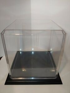 Acrylic Basketball Display Case with Black Base