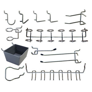 43 Piece Pegboard Accessory Pack