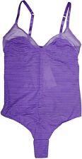 La Perla Studio Elisa XS Bodysuit Teddy Purple Wire Free