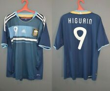 Argentina Higuain #9 Football Soccer National Shirt Mens Jersey 2011/2012 XL